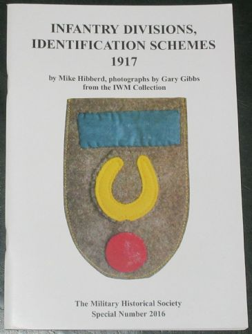 Infantry Divisions, Identification Schemes 1917, by Mike Hibberd